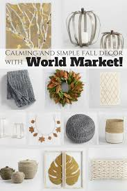 how to decorate for fall without the traditional colors u2022 our