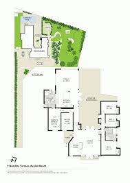 Avalon Floor Plan by 1 Nandina Terrace Avalon Beach Nsw 2107 Sold Realestateview