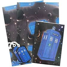 dr who wrapping paper official doctor who gift wrapping paper tags and card