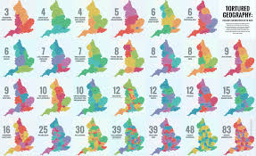 Counties In England Map by 40 Ways To Carve Up England Big Think