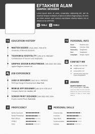Free Printable Resume Templates Online by Adobe Resume Template Creative Free Printable Resume Templates 40
