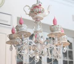 Tea Cup Chandelier 40 Best Chandeliers Images On Pinterest