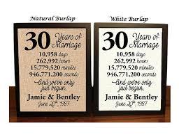 30 anniversary gift 30th anniversary 30 year anniversary 30th anniversary gift