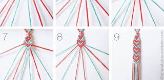 bracelet patterns with string images Heart pattern friendship bracelets jpg
