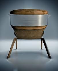 futuristic chair inspired by bike helmet u2013 q lounge chair home