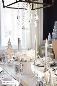 Xmas Table Decorations by Best 25 Holiday Tablescape Ideas Only On Pinterest Xmas Table