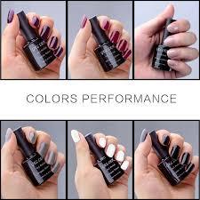amazon com gellen uv gel nail polish set pack of 6 colors beauty