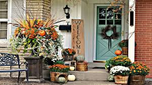 2017 thanksgiving front porch decorating ideas 2