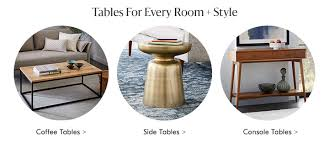 side accent tables modern accent tables west elm