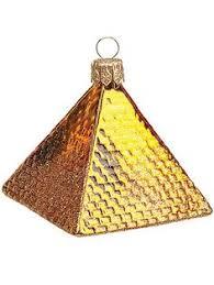 kurt adler polonaise 5 pyramid ornament glass
