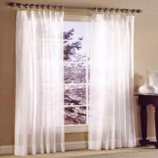 Sears Drapery Dept by Stylemaster Splendor Sheer Pinch Pleat Curtain Panels