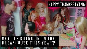 happy thanksgiving glitter a barbie thanksgiving barbie glitter youtube