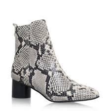 womens boots kurt geiger geiger kurt geiger snake print boots