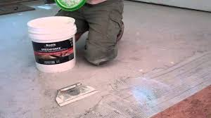 Cork Flooring Installation Diy Cork Flooring Installation Youtube