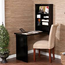 Computer Desk With File Cabinet Wood Wall Mounted Black Fold Away Computer Desk Design With File