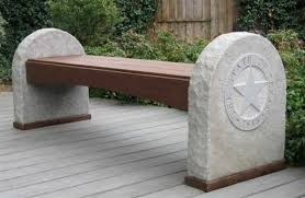 Ipe Bench Stone Carver Designs Limestone U0026 Ipe Bench 2