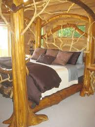 Tree Bed Frame Tree Branch Bed Search Barn Homes Pinterest Tree
