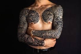 ink tribal sleeve tattoos