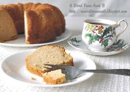a word from aunt b brown sugar pound cake