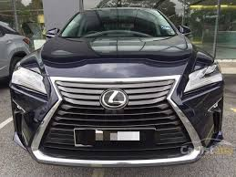 lexus suv malaysia lexus rx350 2017 luxury 3 5 in kuala lumpur automatic suv blue for