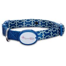 collar light for small dogs good2go geometric bone print light up led dog collar petco