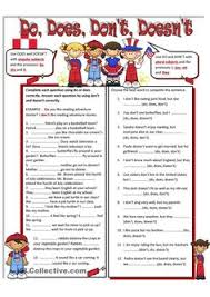 do vs does worksheet free esl printable worksheets made by