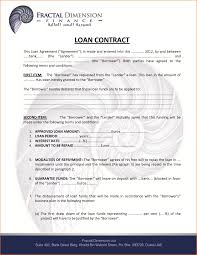 loan agreement template interest only free simple form student
