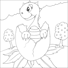 dinosaur coloring pages 4 dinosaures baby