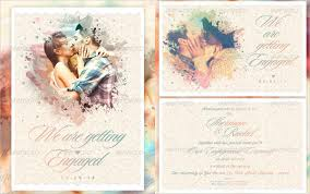 100 engagement invitation templates free download summer