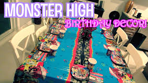 monster high bedroom decorating ideas monster high birthday decor july 24 2015 modernmom4life