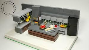 lego kitchen modern lego kitchen moc be a master chef youtube