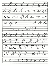 Handwriting Worksheets 4th Grade How To Write Z In Cursive Boxfirepress