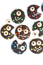 Monster Halloween Cookies by Monster Cookies The Bakermama