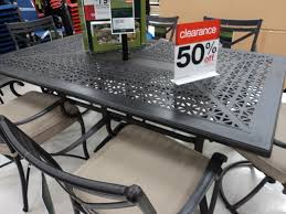Patio Dining Table Clearance Wonderful Inspiration Target Patio Furniture Clearance 2017 At