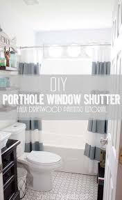 diy porthole window shutter tutorial southern revivals