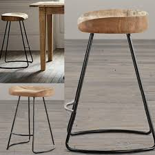 iron kitchen island bar stools bar stools metal and wood copper set of counter