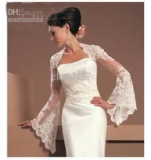 wedding dresses with bolero 2018 ivory white lace wedding bridal dress bolero shrug