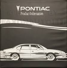 1993 pontiac grand prix repair shop manual original 2 volume set