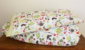 woodland duvet cover and pillowcase toddler bedding nursery