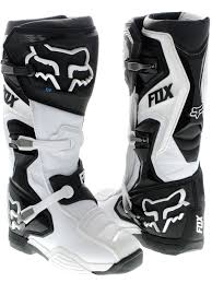 dirt bike racing boots fox white comp 8 mx boot fox freestylextreme moto gear