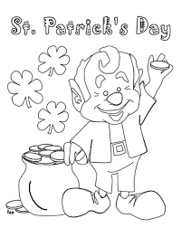 coloring st patrick coloring free st patrick coloring pages