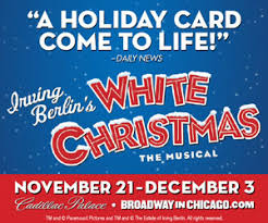 win 2 tickets to irving berlin s white chicago