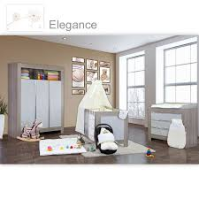 babyzimmer weiß grau babyzimmer felix in akaziengrau 21 tlg mit 3 türigem kl