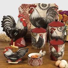 Rooster Kitchen Decorations