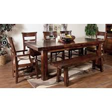Rustic Mahogany Coffee Table Designs 1316rm Vineyard Extension Table In Rustic Mahogany
