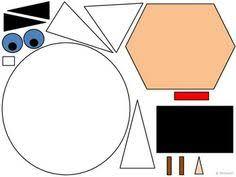 thanksgiving geometric turkey 2d shapes thanksgiving motor