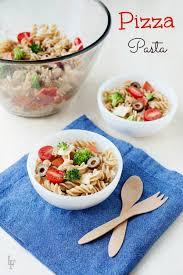 Cold Pasta Salad Recipe Easy Lunch Idea Pizza Pasta Salad Recipe U0026 Video