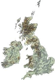 British Isles Map File Physical Map British Isles Ref 1926 Clear Png Wikimedia Commons