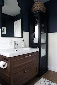 ikea white bathroom super thrifty bright white bathroom makeover