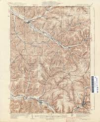 Map Of Williamsport Pa Pennsylvania Historical Topographic Maps Perry Castañeda Map